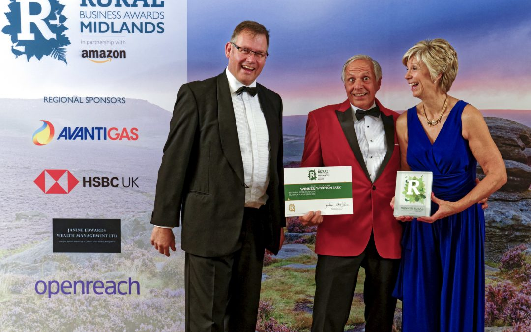 Midlands Regional Rural Business Award 2018 Winner